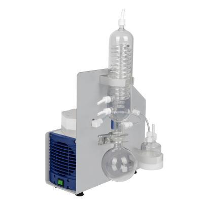 Pompa per vuoto resistente alla corrosione per il recupero del solvente