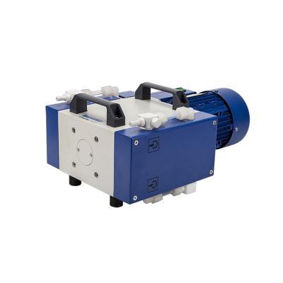 Pompa per vuoto a diaframma a frequenza variabile